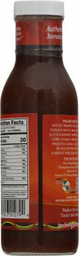 Caribbean Sunshine Jamaican Boston Jerk BBQ Sauce Perspective: back