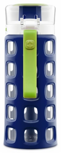 Ello Dash Tritan Water Bottle - Touchdown Blue Perspective: back