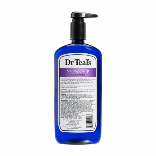 Dr Teal's Pure Epsom Salt Soothe & Sleep Lavender Body Wash Perspective: back