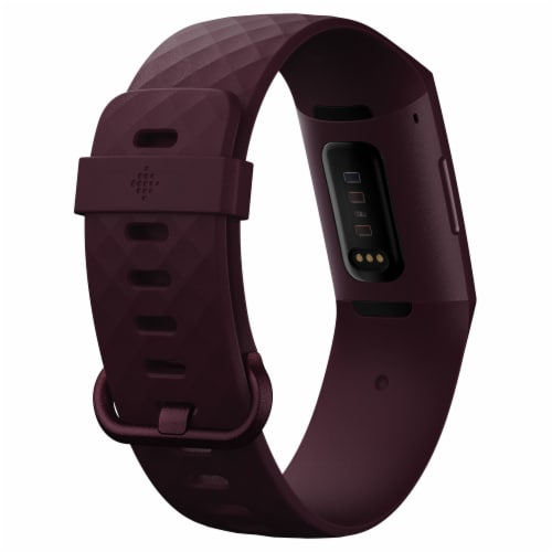 Fitbit Charge 4 Fitness Tracker - Rosewood Perspective: back