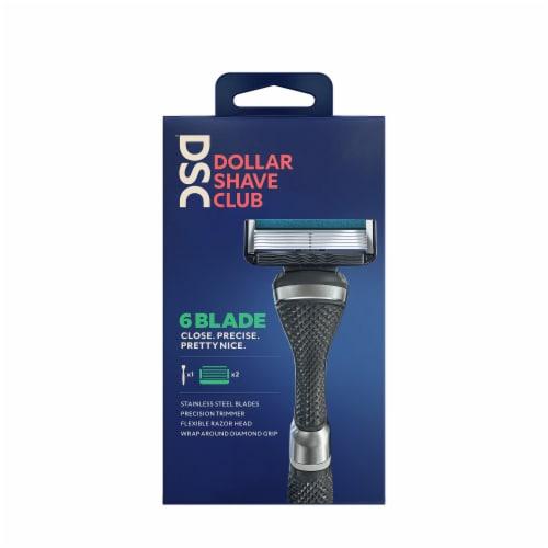 Dollar Shave Club Razor Starter Kit Perspective: back
