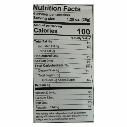 Fruit Bliss - Organic Deglet Nour Dates - Dates - Case of 6 - 5 oz. Perspective: back