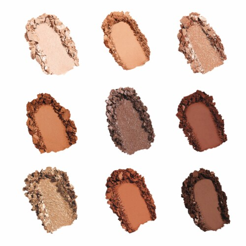 Spicy Eyeshadow Palette Perspective: back
