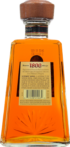1800 Anejo Tequila Perspective: back