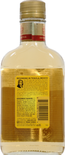 Jose Cuervo Especial Tequila Gold Perspective: back