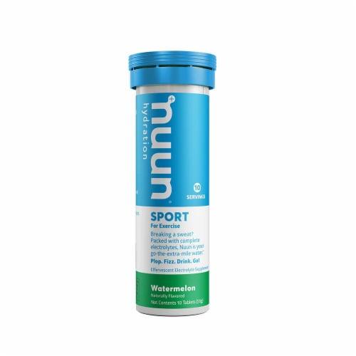 Nuun Hydration Sport Watermelon Effervescent Electrolyte Tablets Perspective: back