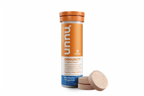 Nuun Blueberry Tangerine Immunity Tablets Perspective: back