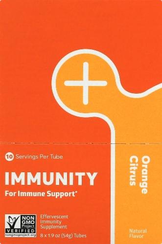 NUUN Hydration Orange Citrus Immunity Drink Tablets Perspective: back