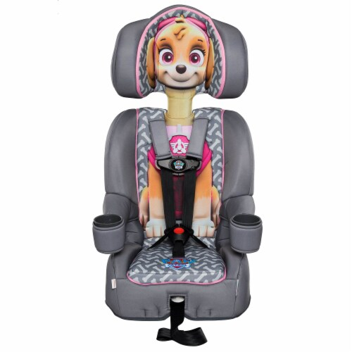 KidsEmbrace Nickelodeon Paw Patrol Skye Combination Harness Booster Car Seat Perspective: back