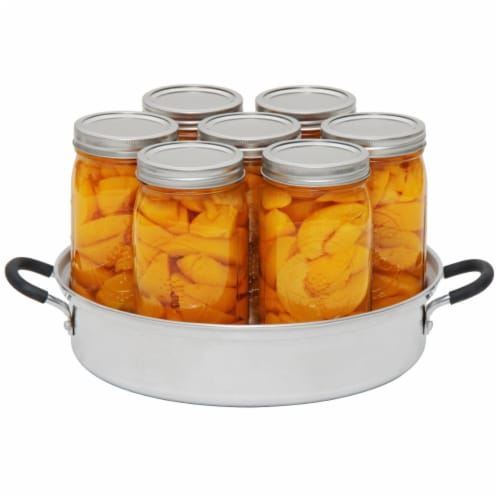 VKP Brands FRUITSAVER Aluminum Steam Canner By Roots and Branches Perspective: back