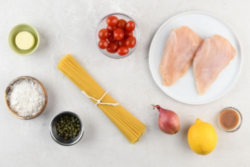 Home Chef Meal Kit Classic Chicken Piccata Perspective: back