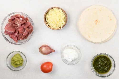 Home Chef Meal Kit Argentinean Steak Flautas With Avocado Crema Perspective: back