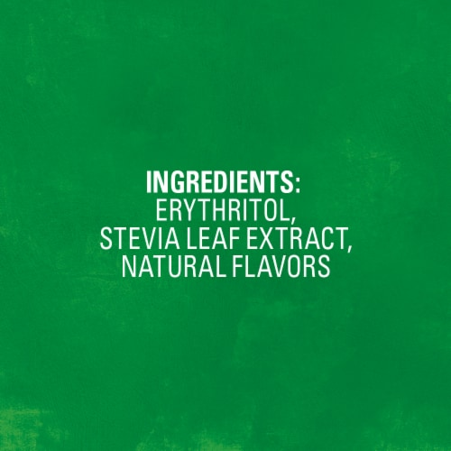 Truvia Stevia Leaf Naturally Sweet Calorie-Free Sweetener Perspective: back