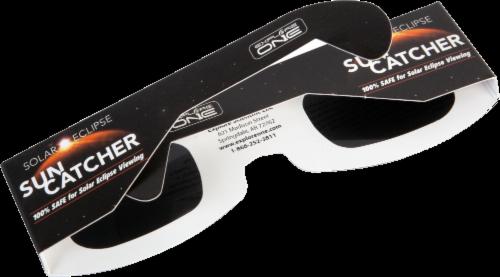 Explore One Solar Eclipse Sun Catcher Sunglasses Perspective: back