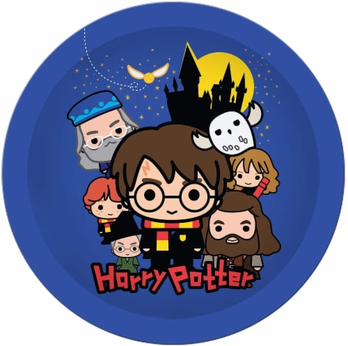 Harry Potter & Friends Chibi Styling 60 Piece Party Tableware Set | Cups | Plates | Napkins Perspective: back