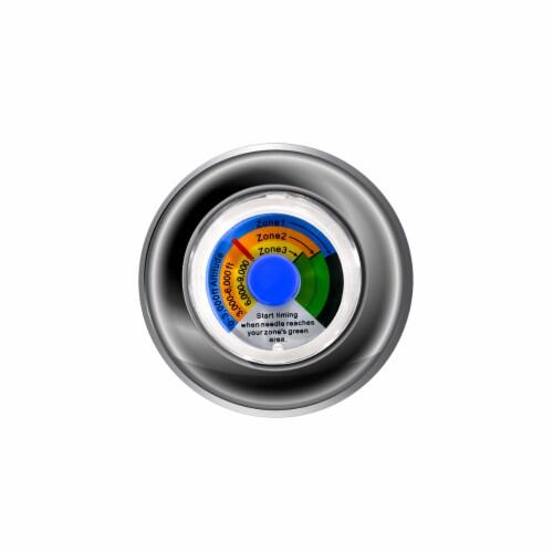 20QT Water Bath Canner Temperature Indicator W/ 7pcs Canning Jars Perspective: back
