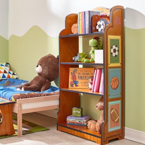 Fantasy Fields Kids Bookshelf Room Décor Kids Furniture Little Sports TD-0018A Perspective: back