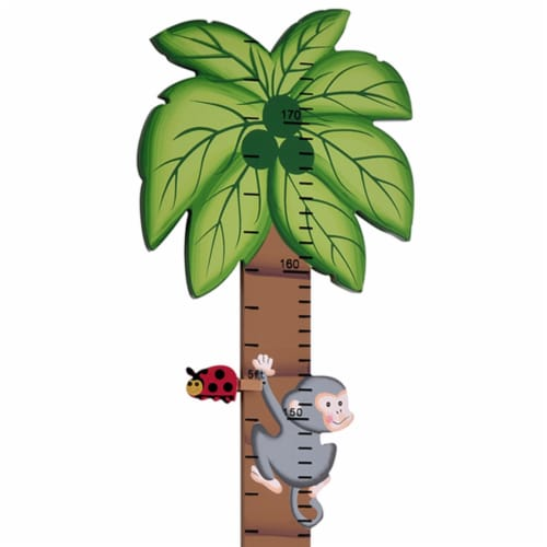 Fantasy Fields Kids Sunny Sarfari Kids Wooden Growth Height Chart Wall TD-0073A Perspective: back