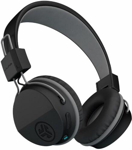 JLab Audio Neon Bluetooth Wireless On-Ear Headphones - Black Perspective: back