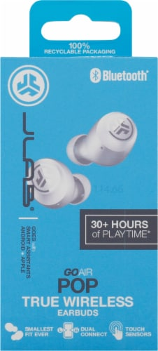 JLab Audio Go Air Pop True Wireless Earbuds - Lilac Perspective: back
