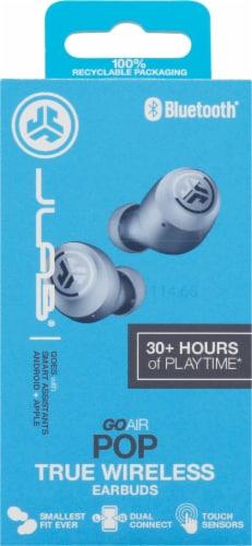 JLab Audio Go Air Pop True Wireless Earbuds - Slate Perspective: back