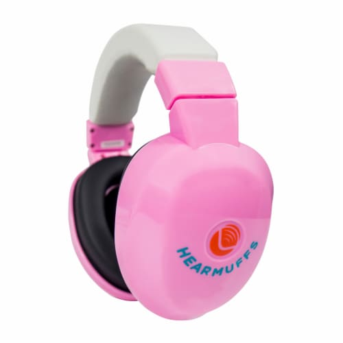 Lucid Audio HearMuffs Infant Passive - Pastel Pink Perspective: back