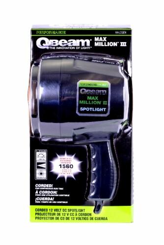 Q-Beam Max Million III Corded DC Spotlight Perspective: back