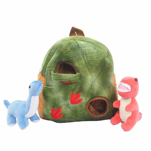 Linzy Toys Dinosaur Backpack Perspective: back