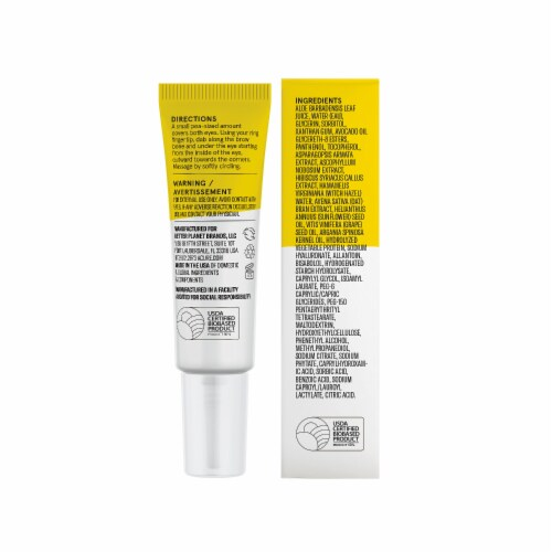 Acure Brightening Eye Contour Gel Perspective: back