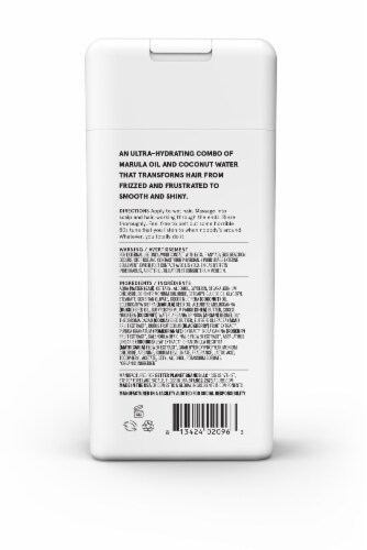Acure® Simply Smoothing Coconut & Marula Oil Conditioner Perspective: back