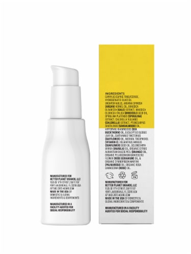 Acure Brightening Super Greens Facial Serum Perspective: back