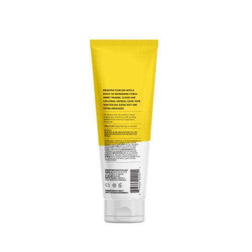 Acure Brightening Glow Lotion Perspective: back