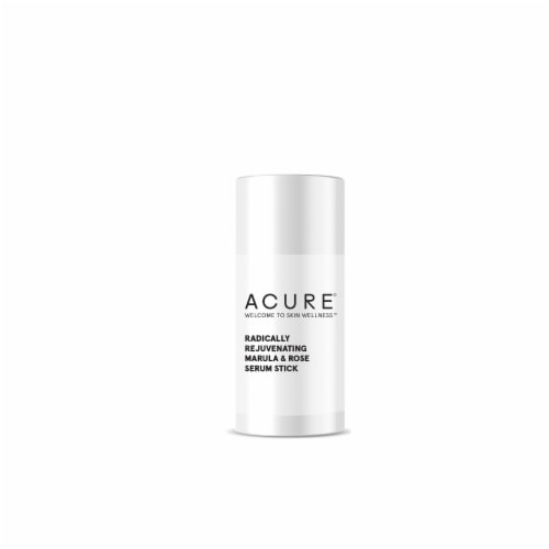 Acure Radically Rejuvenating Serum Stick Perspective: back