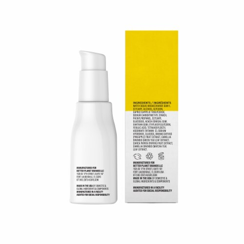 Acure Brightening Vitamin C & Ferulic Acid Oil Free Face Serum Perspective: back