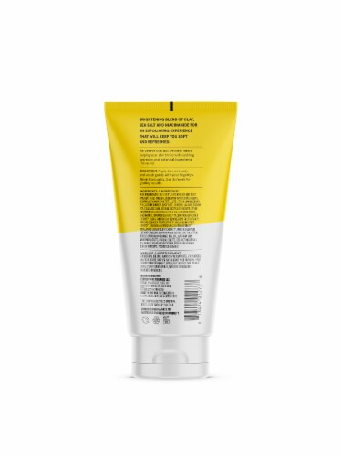 Acure Brightening Body Scrub Perspective: back