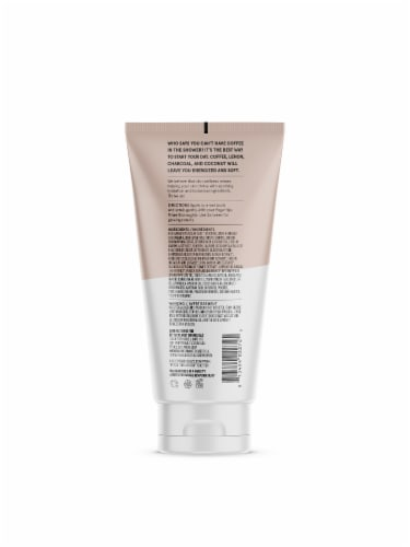Acure Energizing Coffee Body Scrub Perspective: back