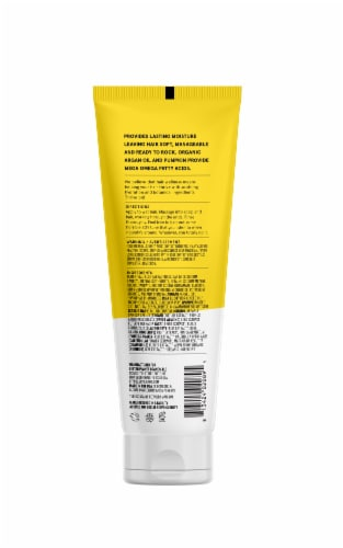 Acure Argan and Pumpkin Ultra Hydrating Shampoo Perspective: back