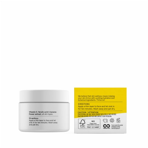 Acure Brightening Vitamin C Jelly Mask Perspective: back