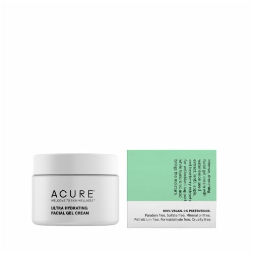 Acure Ultra Hydrating Facial Gel Cream Perspective: back