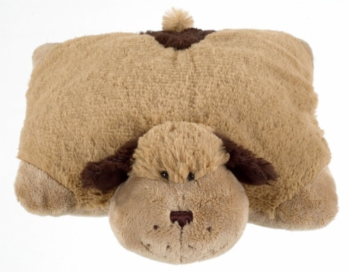 Pillow Pets Snuggly Puppy Plush Toy Perspective: back
