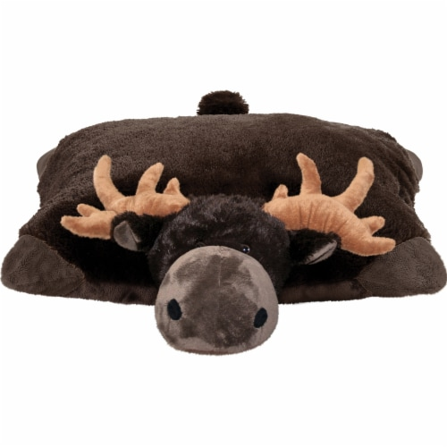 Pillow Pets Wild Animals Wild Moose Plush Toy Perspective: back
