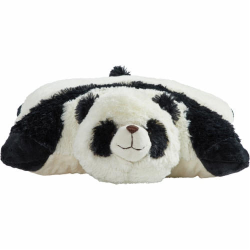 Pillow Pet Comfy Panda Plush Toy Perspective: back