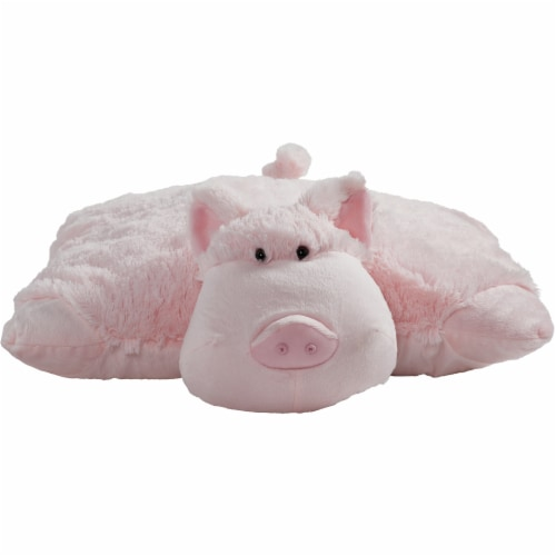 Pillow Pets Original Wiggly Pig Stuffed Animal Plush Toy Perspective: back