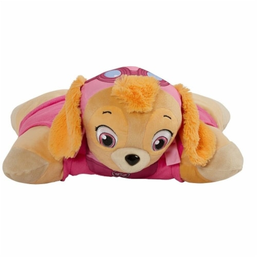 Pillow Pets Nickelodeon Paw Patrol Skye Plush Toy Perspective: back