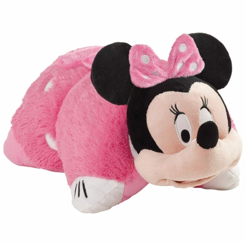 Pillow Pets Disney Minnie Mouse Plush Toy - Pink Perspective: back