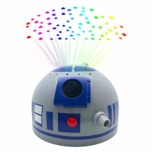 Pillow Pets Sleeptime Lite Disney Star Wars R2D2 Plush Toy Perspective: back