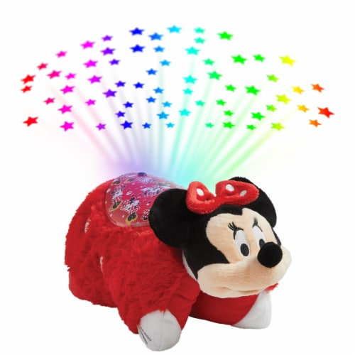 Pillow Pets Sleeptime Lite Disney Minnie Mouse Plush Toy Perspective: back