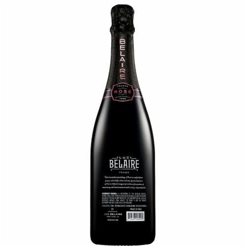 Luc Belaire Sparkling Rare Rose Wine Perspective: back