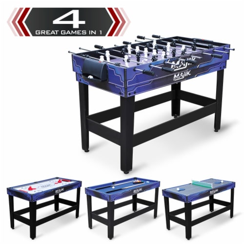 Eastpoint Sports Majik 54 Inch 4 in 1 Multi Game Arcade Combination Table Set Perspective: back