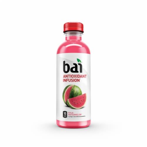Bai Kula Watermelon Antioxidant Infused Beverages 6 Count Perspective: back